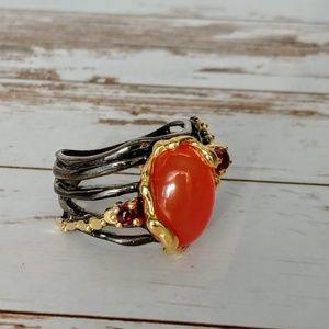 Artisan Carnelian Ring
